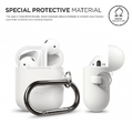 Чехол Elago AirPods Hang Case (EAPSC-HANG-WH) для зарядного кейса AirPods (White)