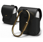 Чехол Elago Genuine Cow Leather Case (EAPLE-BK) для AirPods (Black)