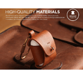 Чехол Elago Genuine Cow Leather Case (EAPLE-BR) для AirPods (Brown)