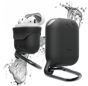 Чехол Elago Waterproof Hang Case для AirPods (Black)