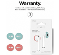 Держатель Elago Secure Fit (EAP-PADSM-IROCBL) для наушников Apple AirPods (Italian Rose/Coral Blue)