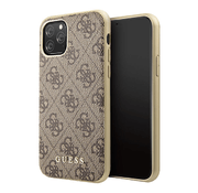 Чехол Guess 4G Collection Hard для iPhone 11 Pro, коричневый