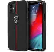 Чехол для iPhone 12 mini CG Mobile Ferrari Off-Track Genuine Leather/Nylon цвет Черный