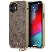 Чехол iPhone 12 mini CG Mobile Guess 4G Charms collection Hard для