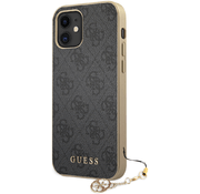 Чехол CG Mobile Guess 4G Charms collection Hard для iPhone 12 mini