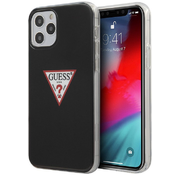 Чехол для iPhone 12 Pro Max CG Mobile Guess PC/TPU Shiny Triangle logo Hard