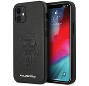 Чехол CG Mobile Karl Lagerfeld PU Ikonik outlines Hard для iPhone 12 mini